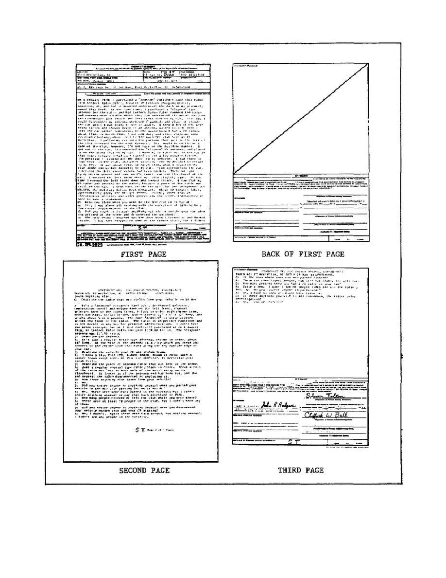 Awesome Da Form 2823 Sworn Statement Success
